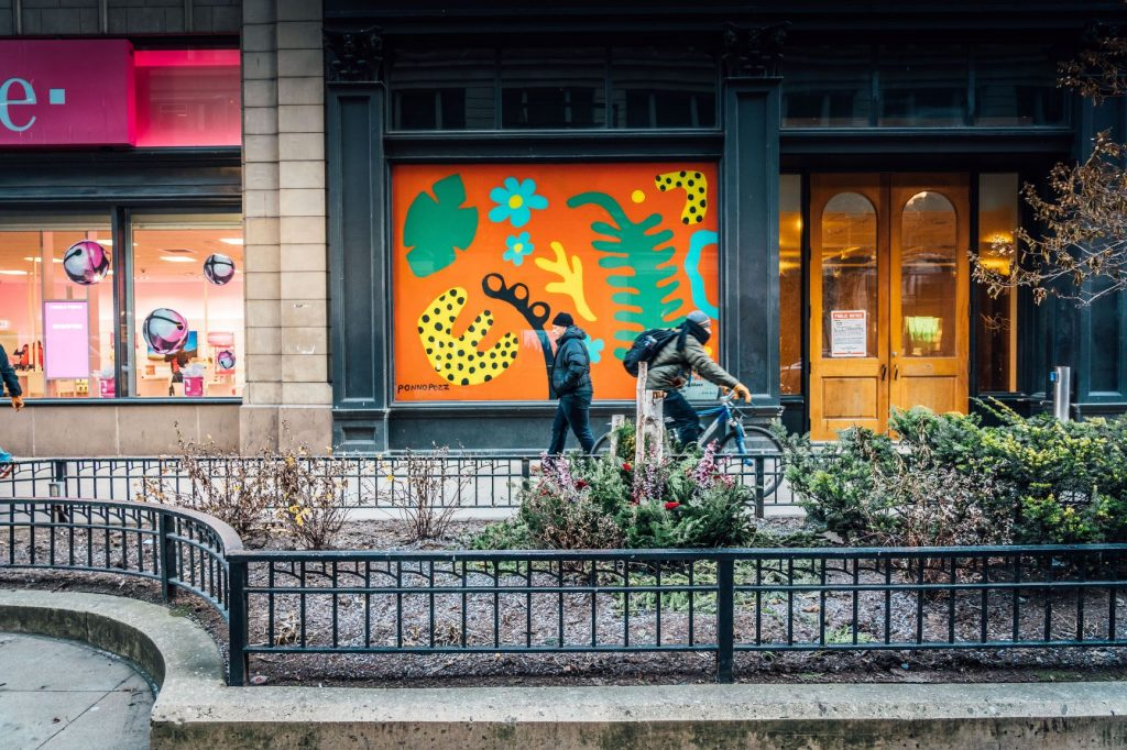 Transforming Vacant Storefronts Through Art