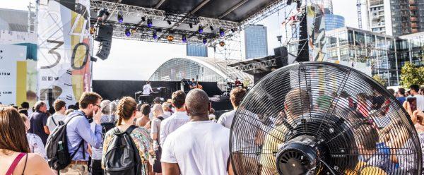 Paris La Défense and its outdoor Jazz Festival